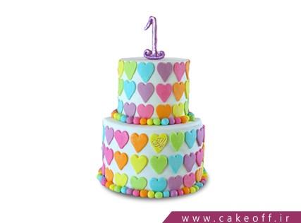 کیک فانتزی - کیک عاشقانه بهترین من | کیک آف