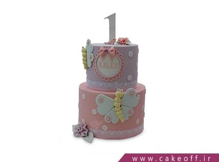 کیک تولد کودک - کیک دخترانه کیک آمولای | کیک آف