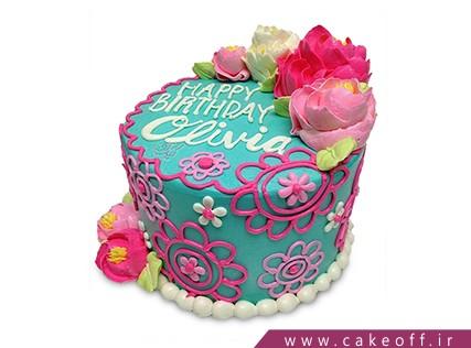 جدیدترین کیک تولد - کیک شیرین دخت | کیک آف
