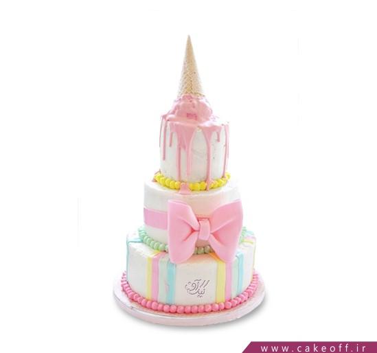کیک تولد فانتزی - کیک تولد دخترانه پارمیدا | کیک آف