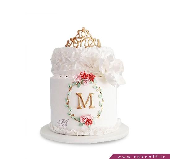 کیک تولد دخترانه جدید - کیک آرام دل | کیک آف