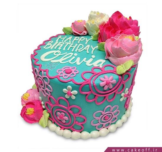جدیدترین کیک تولد - کیک شیرین دخت   کیک آف