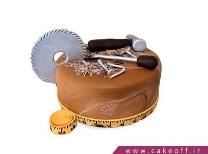 کیک تولد مشاغل - کیک نجار باشی جون | کیک آف