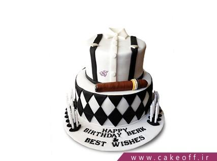 کیک پیراهن مردانه - کیک تولد مردانه - کیک آقای اسمیت | کیک آف