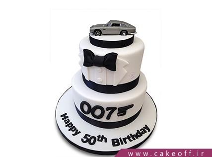 کیک مردانه - کیک جیمز باند 007 | کیک آف
