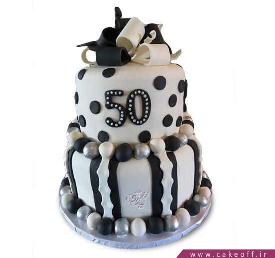 کیک تولد خاص - کیک به مژگان سیه | کیک آف