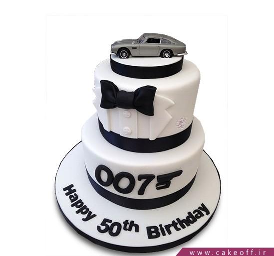 کیک جیمز باند 007