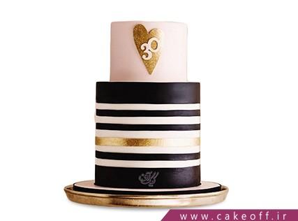 کیک فانتزی - کیک تولد عاشقانه - کیک در حال و هوای عشق | کیک آف