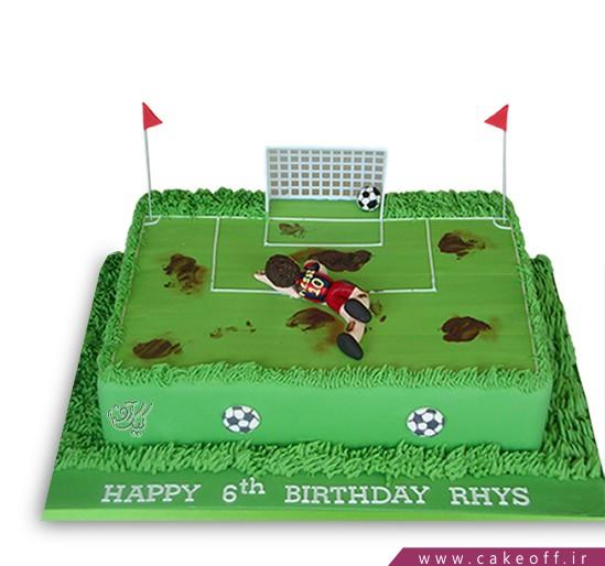 کیک تولد فوتبالی سوباسا