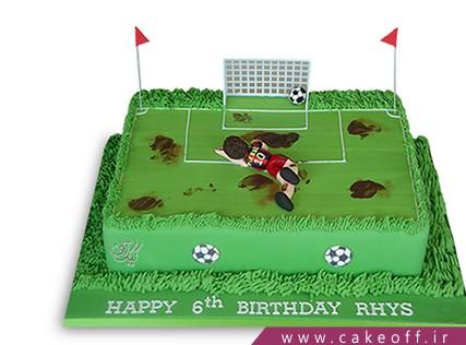 کیک ورزشی - کیک تولد فوتبالی سوباسا | کیک آف