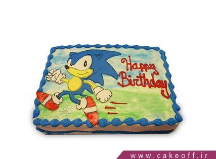 انواع کیک تولد پسرانه - کیک کارتونی - کیک سونیک 1 | کیک آف