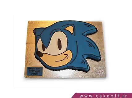 کیک فوندانتی - کیک تولد پسرانه - کیک سونیک 2 | کیک آف