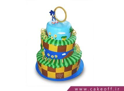 انواع کیک تولد پسرانه - کیک کارتونی - کیک سونیک 4 | کیک آف