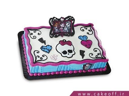 خرید کیک تولد - کیک کارتونی مانستر های 1 | کیک آف