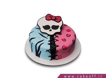 کیک فوندانتی - کیک مانستر های اسکلتی | کیک آف