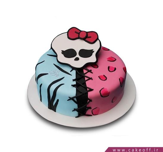 کیک مانستر های اسکلتی