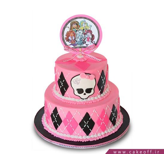 انواع کیک تولد دخترانه - کیک کارتونی مانستر های ۲ | کیک آف