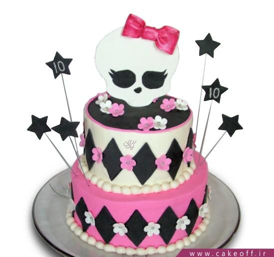 کیک کارتونی مانستر های 4