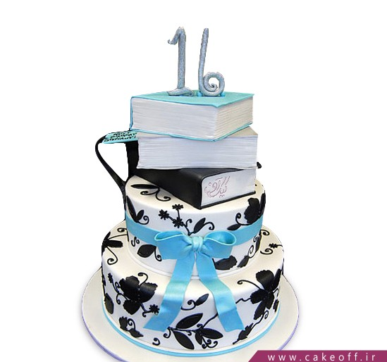 کیک طبق طبق کتاب