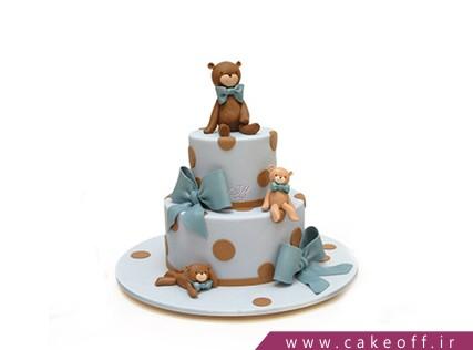 کیک حیوانات - کیک تولد بچه گانه - کیک به مهمونی خرس خوش اومدی | کیک آف