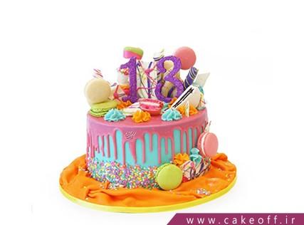 کیک تولد شاد دخت | کیک آف