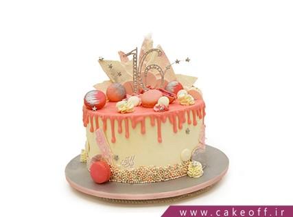 کیک چکه ای شاد فر | کیک آف