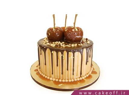 کیک تولد شکلات گیلاسی | کیک آف