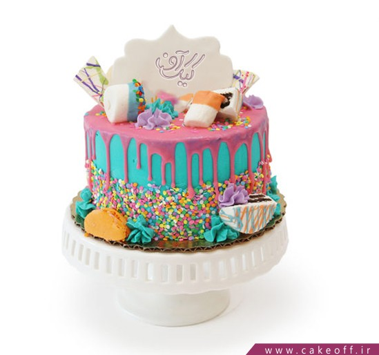 کیک تولد شاد بانو | کیک آف
