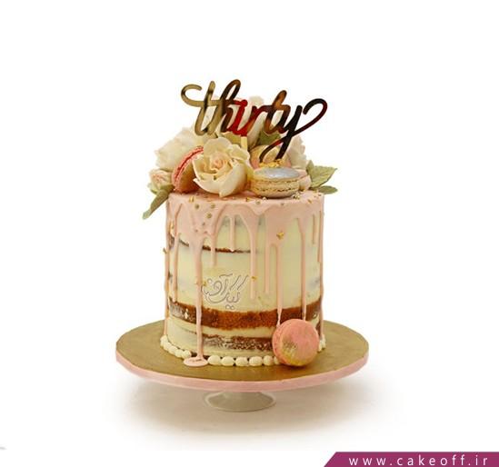 کیک تولد گل آوا | کیک آف