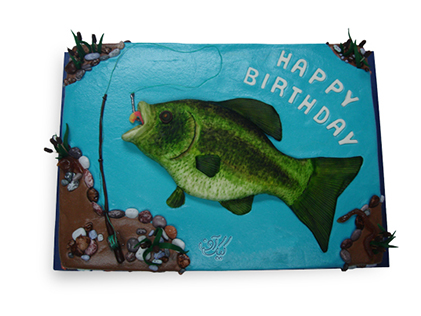 کیک تولد سالمون | کیک آف