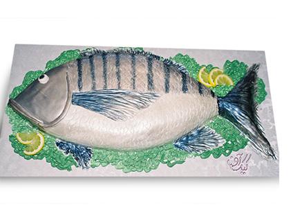 کیک تولد ماهی خوشمزه | کیک آف