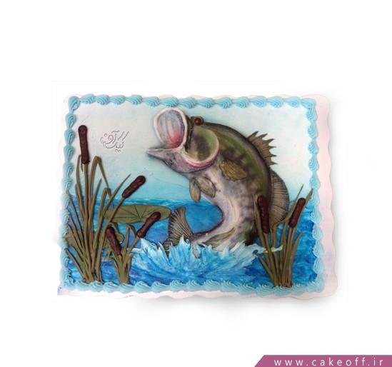 سفارش کیک تولد در اصفهان - کیک تولد قزل آلا | کیک آف