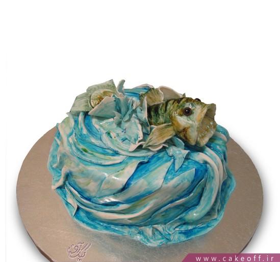 خریدکیک تولد - کیک ماهی دریا | کیک آف