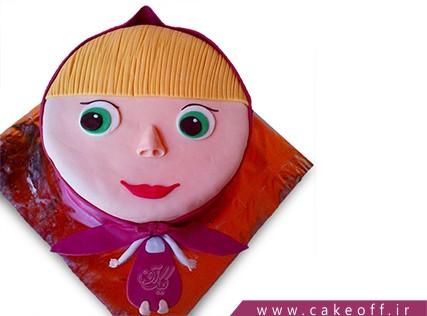 کیک تولد دختر بچه - کیک ماشا و میشا 2 | کیک آف