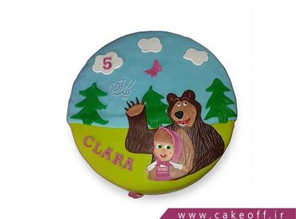 کیک تولد دختر بچه - کیک ماشا و میشا 4 | کیک آف