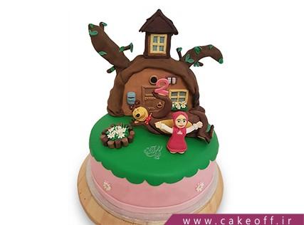 جدیدترین کیک تولد - کیک ماشا و میشا 13 | کیک آف
