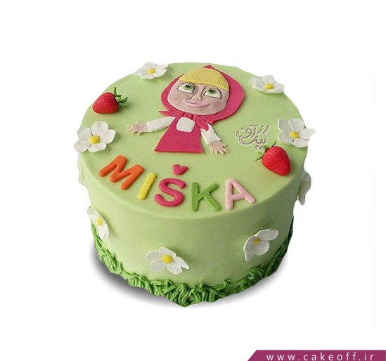 کیک ماشا و میشا 5