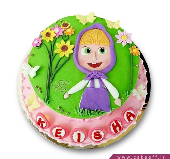 کیک ماشا و میشا 6