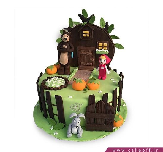 کیک ماشا و میشا 10