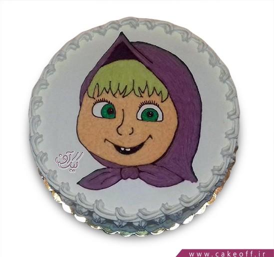 کیک ماشا و میشا 12
