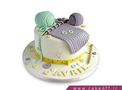 کیک تولد مادربزرگ - کیک میله و کاموا | کیک آف