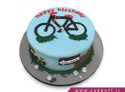 کیک پسر بچه - کیک دوچرخه سوار | کیک آف