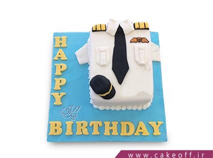 کیک مشاغل - کیک خلبان شجاع | کیک آف