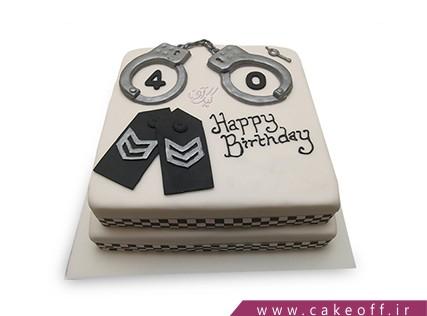 کیک مشاغل - کیک افسر جان | کیک آف