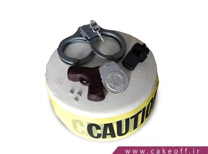 کیک تولد پلیس - کیک کاراگاه جان | کیک آف