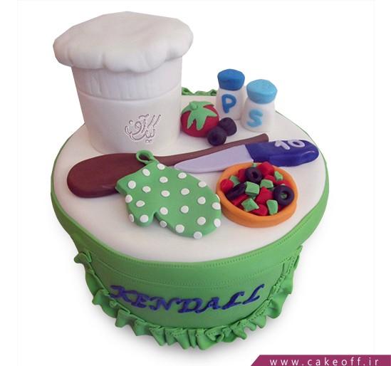 کیک مشاغل - کیک سرآشپز | کیک آف