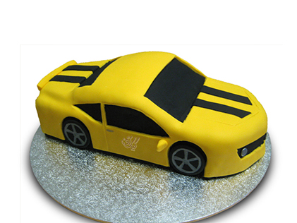 کیک تولد پسرانه تاکسی | کیک آف