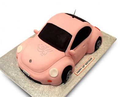کیک پسرانه - کیک ماشین هربی | کیک آف