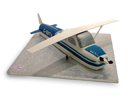 خرید اینترنتی کیک - کیک پسرانه پرواز آبی | کیک آف
