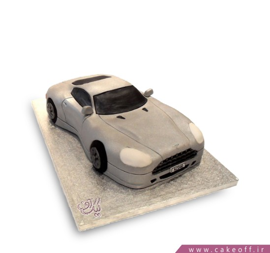 کیک تولد پسرانه - کیک ماشین کارآگاه | کیک آف